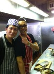 Gok and our Chef